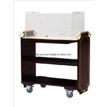 Hotel Cooper Wood Biscuit Cart (DE28)