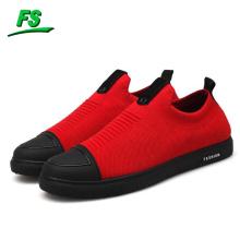 Mode style flyknit skate sneaker confortables chaussures de skateboard décontractés