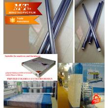 Синий прозрачный ПВХ, матрас упаковочная пленка для защитная пленка
