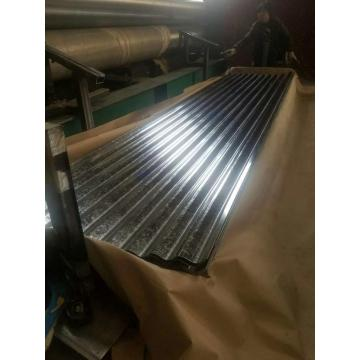 Shandong regular spangle acero galvanizado metal plancha de hierro