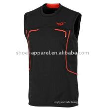 2014 Mens Black Running Vest / Tank Top