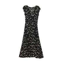 Women's Short Sleeve  Maxi Dresses Casual Long Dresses