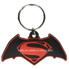 Injection Molding Rubber Newest Fashion Plastic Mini Toy PVC Key Ring