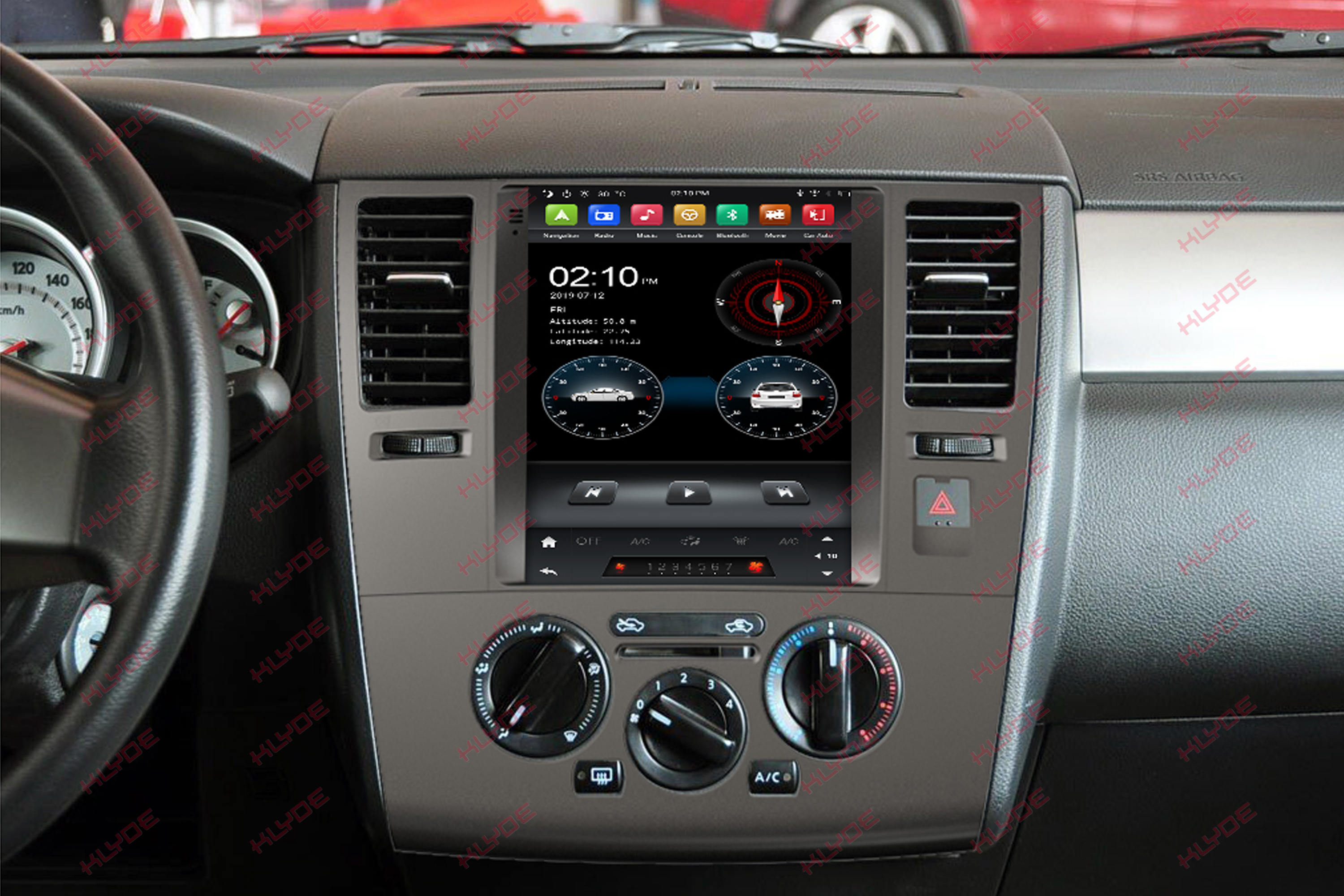 car dvd player for TIIDA 2010