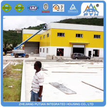 Made in china certificated prefabricated greenhouse