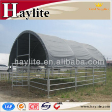 steel structure animal shelter with low price materials