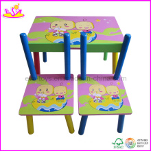 Kid′s Desk and Chair (W08G083)