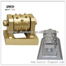 Bush hammer tools-Diamond bush hammer for litchi surface