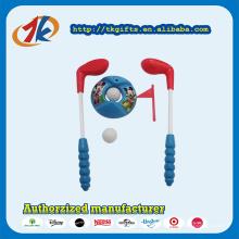 Brinquedo de plástico promocional esporte Mini Golf Set brinquedos