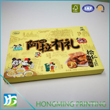 Logo Embossing Food Cardboard Paper Box with Insert