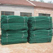 Maille de Gabion de PVC avec le treillis métallique hexagonal / filet