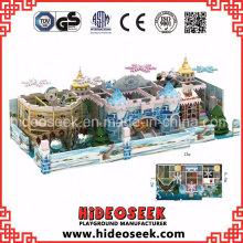 Eis Schnee Theme Kinder Soft Indoor Naughty Castle Spielplatz