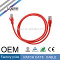 SIPU de alta velocidad de PVC y HDPE 4 pares de cable de conexión de cable utp cat6