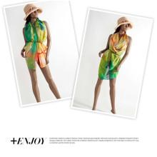 New Chiffon Sexy Wrap Dress Sarong Beach Cover Up Scarf Swimwear Ladies Sun Beachwear