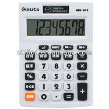 8-stelliger MRC-Knopfrechner / Timer & Wechselkursrechner / Taschenrechner für Bürogebrauch