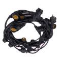 E27 Lamp Holder Schuko Plug outdoor string lights 48ft