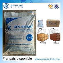 Rock Soundless Chemical Expansive Mörtel für Block