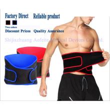 Cinto de corrida em neoprene para dores nas costas