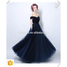 Promoção de Natal !!! Moda Feminina Sexy Long Black Lace Evening Dress Off Shoulder Elegant Homecoming Formal Dinner Dress