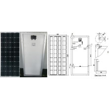 18В 90 Вт 95 Вт 100 Вт Монокристаллический модуль PV панели солнечных батарей с TUV сертификат ISO