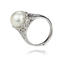 11-12mm AAA Grade 925 Sterling Silver Cultureed Freshwater Pearl Ring Design