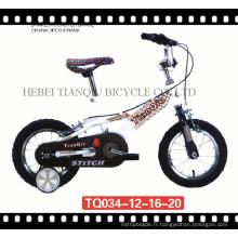 Hebei usine pas cher nouveaux modèles enfants vélo unique enfants vélo (tq034)