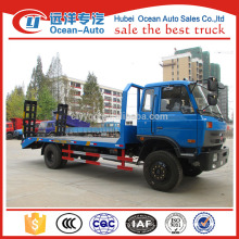 2015's new dongfeng 1-10T flatbed tow truck for sale