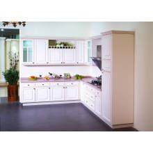 Simple Design Melamine Board Armoires de cuisine modernes en vente