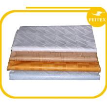 FEITEX Fête De Mariage Tissu Souple En Gros Guinée Brocade 100% Coton Broderie Bazin Riche Vêtement Africain Dressing