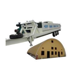 SABM-1220-800 k q large span arch roof PPGI roll forming machine