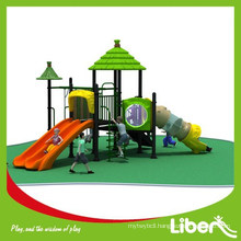 Low Price plastic children outdoor play with SGS supervise for garden (LE.DC.026)