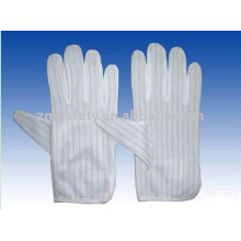 ESD striped gloves for electronic working ZM826-H