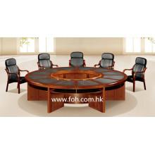 Table de conférence à grande table en bois Table de salle de conférence Mobilier de bureau classique (FOHSC-3006)