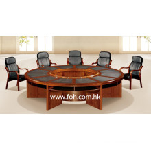 Wooden Large Round Conference Table Conference Room Table Classic Office Furniture (FOHSC-3006)