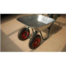 Zweirad / Schubkarre mit verzinktem Tray Wb6410