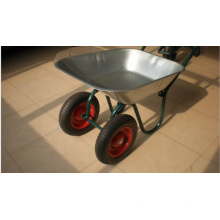 Two Wheel/Wheelbarrow with Galvanized Tray Wb6410