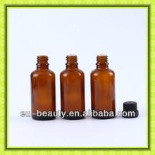 50ml bernsteinfarbene Glasflasche für Öl