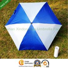 Aluminium 5 fach Werbe Flasche Regenschirm für Werbung (BOT-5619A)