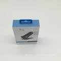 Caixas de embalagem de eletrônicos de papel Hot stamping personalizados