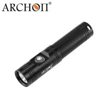 Archon Diving Flashlight Torch Waterproof 60m with Push-Button Switch