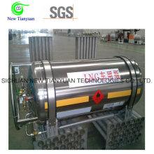 383L Large Nominale Volume LNG Cryogenic Tanker Cylinder