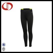 Neueste Blank Dry Fit Frauen Junge Kompression Hosen Laufen Leggings