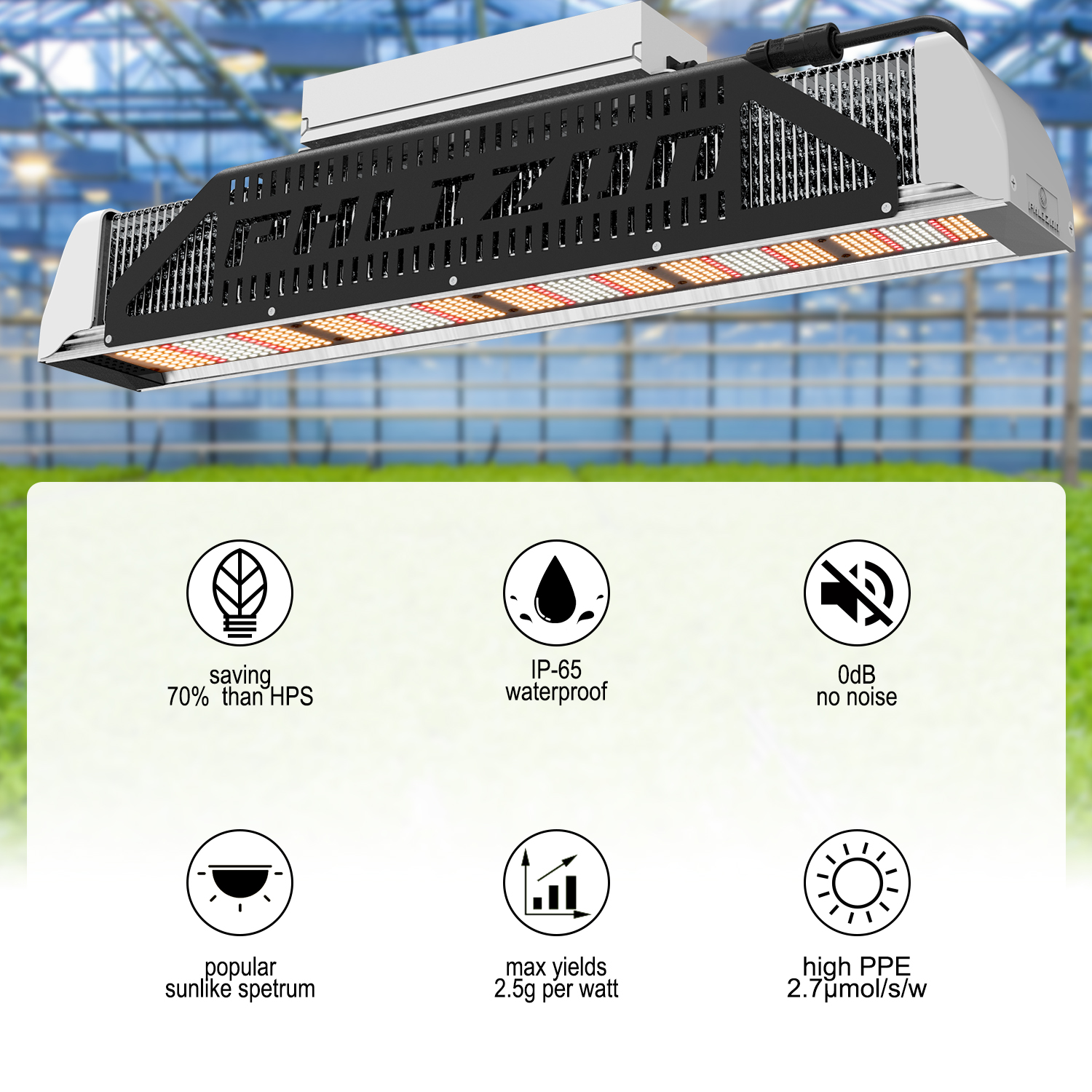 LED Linear Grow Light