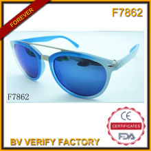 Die luxuriösen Schmuck blaue Sonnenbrille (F7862)