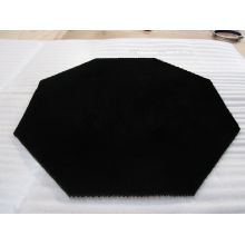 Black Micro-Aperture Honeycomb Core Reflector