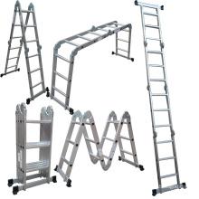 hot sale 16ft 330lb max load capacity multipurpose ladder 4*4 steps