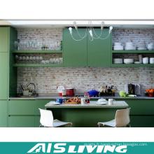 Meubles de Cabinet de cuisine Malamine vert Europe Style (AIS-K336)