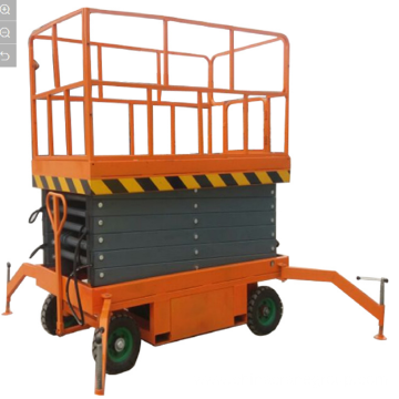 300kg 12m Electric Lifting Selfpropelled Suspended Platform