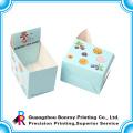 Высокое качество CMYK печать художественная бумага перфорированная бумажная коробка оптом