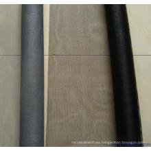cortinas de pantalla de fibra de vidrio de suministro de fábrica en rollos